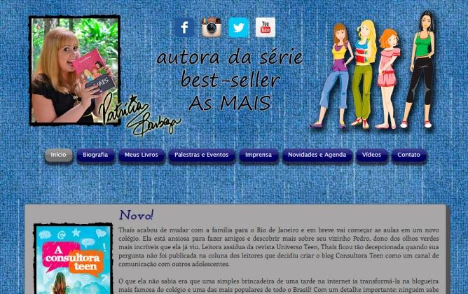 Print tela principal site versão 2015